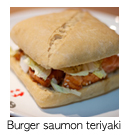 BurgerSaumonTeriyaki