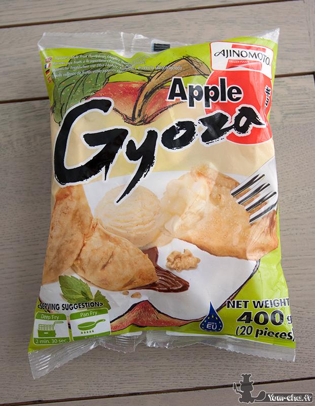 Apple Gyoza