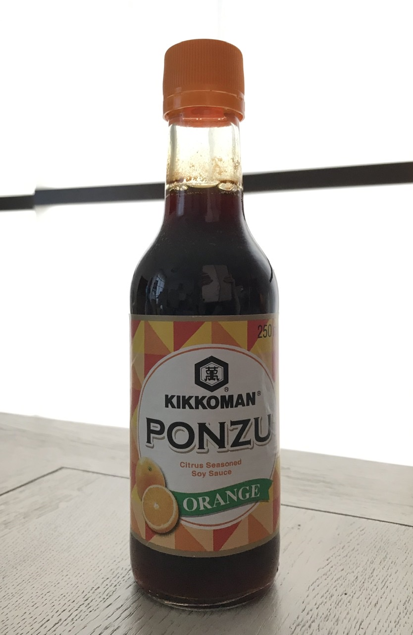 Ponzu à l'orange